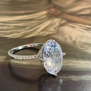 💎 New Gorgeous Austrian Crystal Ring 925